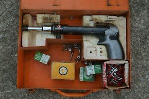 Olin Ramset Fastening Tool Powder Actuated 4160 Mk Ii Good Condition Case