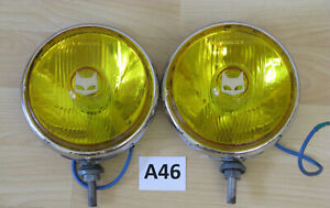 Marchal 819 Fog Driving Lights Pair Carello Hella Cibie
