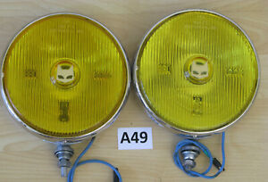 Marchal 880 Fog Lights Pair Carello Hella Cibie