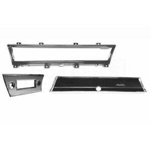 Chevelle And Malibu Dash Bezel Kit 1966 50 343782 1