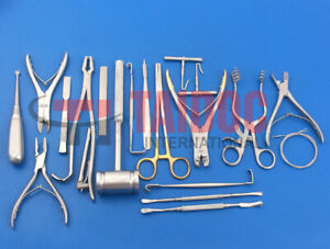 20 Instruments Veterinary Orthopedic Pack Surgical Instruments By Pk