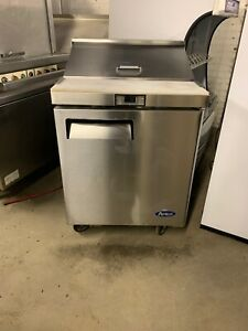 Atosa Msf8301 Used 27 Sandwich Prep Table Cooler Sandwich Unit
