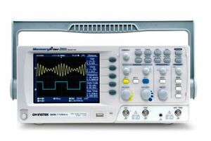 Instek Gds 1102a u Digital Oscilloscope 2ch W tft Color Lcd New