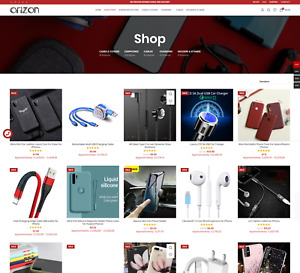 Dropshipping Store Turnkey Selling Phone Accessories Business Premium Website