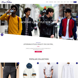 Men s Fashion Turnkey Dropshipping Business Premium Store sale Ready Automated