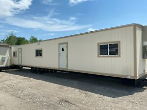 New 2020 1260 Mobile Office Building job Site Trailer With 1 2 Bath Omaha Ne
