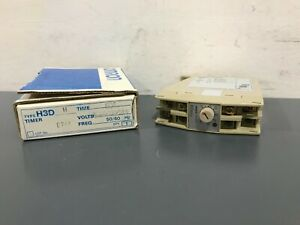 Omron H3dh Timer 60 Seconds 100 110 120 Vac 3a 250 Vac