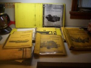 Vermeer Trencher Concrete Cutter 450 850 Operator Parts List Manual Lot L19