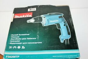 Makita 6 Amp 6 000 Rpm 1 4 Drywall Screw Gun Fs6200tp