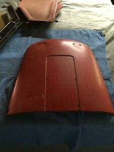 1964 65 66 Ford Galaxie Thunderbird Metal Bucket Seat Back Red