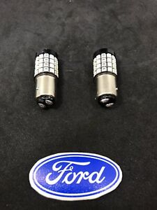 1964 73 Ford Mustang Falcon Comet Pair Of Bright Red Led 1157 Taillight Bulbs