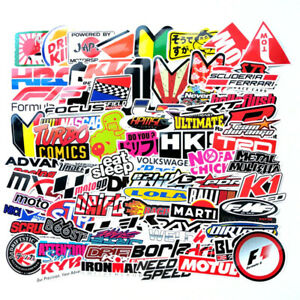 100pcs Jdm Stickers Pack Car Motocross Decals Motorcycle Racing Phone Laptop Cov