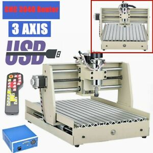 Usb Style 3 Axis 400w Cnc 3040 Router Engraver For Wood Drill Mill Machine Rc