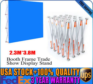 Pop up Booth Frame Trade Show Display Stand 7 5x12 5ft For Wedding Meeting Us