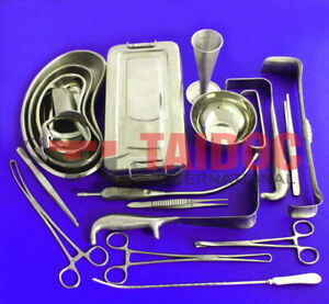 C section Cesarean Section Set Ob gynecology Surgical Instruments 54 Pcs A