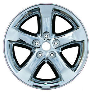 20 Chrome 5 Spoke Alloy Wheel 2006 2008 Dodge Ram1500 2267