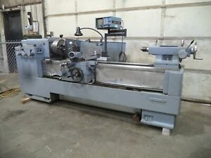 Ikega Model A20i 20 x60 Geared Head Engine Lathe Taper Dro Camlock T Post
