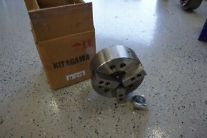 New Kitagawa Lathe Chuck B 210 10 3 Jaw Power Chuck New Never Used