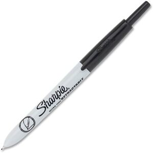 Sharpie Markers Retractable Ultra Fine 12 bx Black 1735790dz