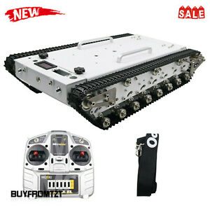 Robot Tank Chassis Metal Rc Tracked Tank Car With Independent Suspension Wt600s