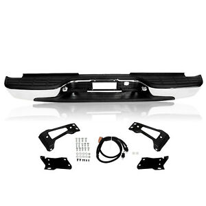 Rear Step Bumper Chrome Styleside For Chevy Silverado 2500 Hd 3500 99 07
