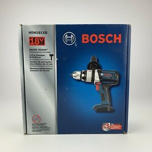 Bosch Hdh181xb 18v Brute Tough 1 2 Hammer Drill W Active Response tool Only