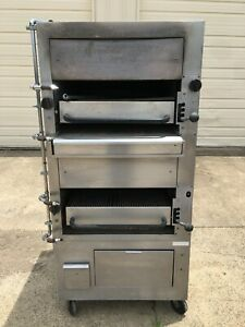 Southbend 234r Double Deck Gas Broiler With Ansul Nozzles