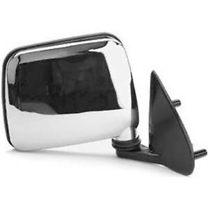 Chrome Right Side Door Mirror Fits 1986 1997 Nissan Hardbody Pickup Dmr 52682r