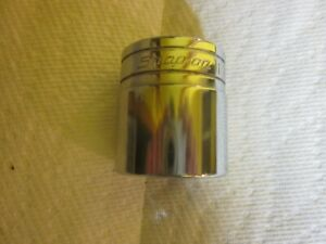 Snap on Tools 1 2 Drive 6pt 1 3 16 Sae Shallow Chrome Socket Tw381