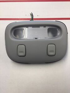 2005 2011 Town Car Overhead Console Map Lights With Bracket Light Gray