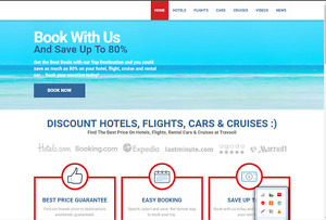 Superior Turnkey Travel Booking Website Free Installation free Cpanel Hosting