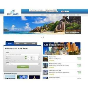 Travel Search Engine Website Huge Income 100 Automated Free Cpanel Hosting