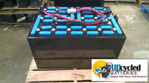 24 85 17 Forklift Battery 48 Volt Fully Refurbished With Core Credit