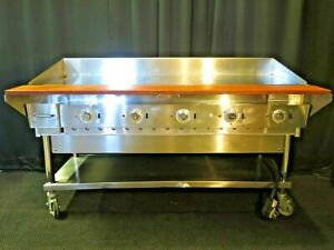 60 Commercial Electric Flat Top Griddle grill Keating 208 240v 3ph