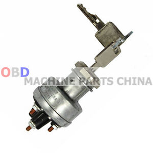 Ignition Switch Key For Bobcat Excavator 310 313 320 322 323