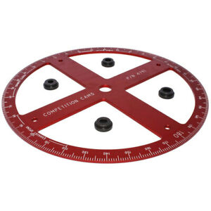 Comp Cams Professional Degree Wheel 16 In Diameter 4791 1 Free Shipping