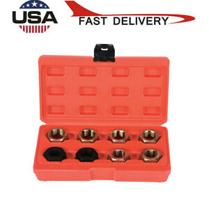8pc Axle Spindle Fractional Metric Rethreading Set Cv Joint Thread Chaser Us