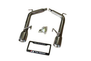 Fits Infiniti G35 G37 Sedan 07 13 Top Speed Pro 1 Axle back Exhaust System
