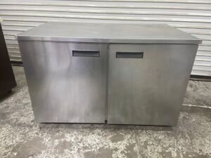 2 Door Under Counter Refrigerator Nsf Cooler Delfield Uc4048 4395 Stainless