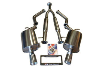 Fits Infiniti M37 M56 Q70 11 18 Top Speed Pro 1 Y pipe Back Exhaust System