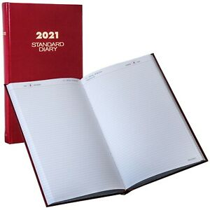 2021 At a glance Sd381 Sd381 71 Standard Diary Daily Reminder 8 3 16 X 13 7 16