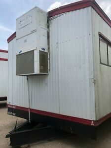 Reduced Used 2007 12 X 60 Mobile Office Trailer S 6112 Houston Tx