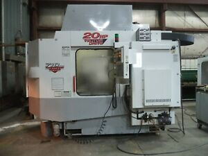 1998 Haas Model Hs 1 Horizontal 4 Axes Machining Center Dual Pallet