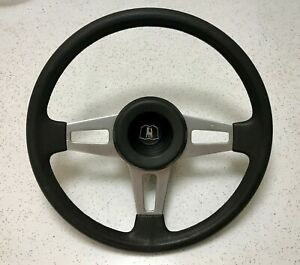 Scirocco Steering Wheel Rabbit Golf Jetta Black Good Horn Button