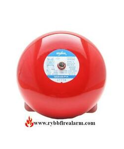 Amseco Msb 6b pv4 Fire Alarm Bell red Free Shipping The Same Business Day
