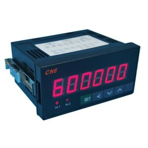 Industrial Digital Counter Number Counter Meter 6 digit Display With Relay Tops