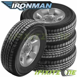 4 Ironman Rb Suv 265 60r18 110h All Season Performance Tires
