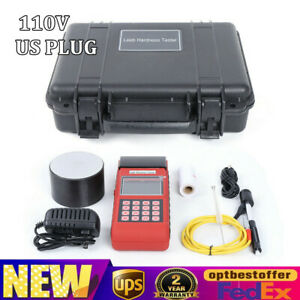 New 110v For Metal Steel With Printer Function Durometer Leeb Hardness Tester