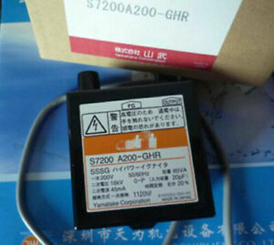 1pc New For Azbil Ignition Transformer S7200a200 ghr For Oil gas Burner M70be Ql