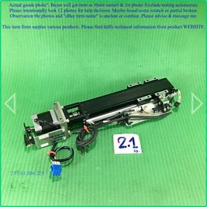 Thk Kr20 Pitch 1mm Stroke 100mm Linear Stage With Motor As Photo Sn 984p d m